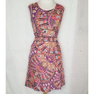 Title Nine Sz S Patterned Dress